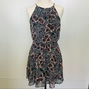 Lush Floral Dress Sz Small Fully Lined EUC
